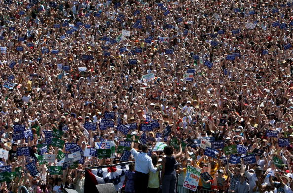 Oregon - US State「Barack Obama Campaigns Throughout Oregon Ahead Of State's Primary」:写真・画像(18)[壁紙.com]