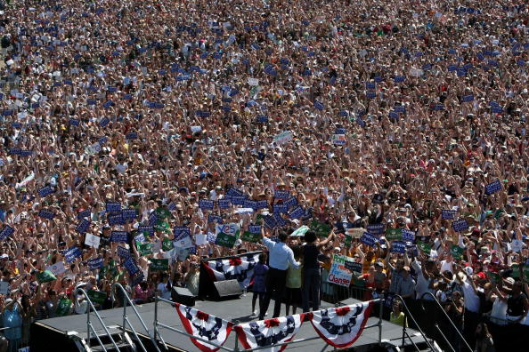 Oregon - US State「Barack Obama Campaigns Throughout Oregon Ahead Of State's Primary」:写真・画像(15)[壁紙.com]