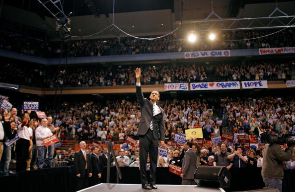 Super Tuesday「Barack Obama Campaigns Ahead Of Super Tuesday」:写真・画像(14)[壁紙.com]