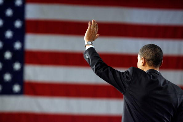 Super Tuesday「Obama Hosts Super Tuesday Night Event In Chicago」:写真・画像(1)[壁紙.com]