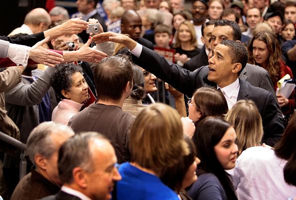 Super Tuesday「Barack Obama Campaigns Ahead Of Super Tuesday」:写真・画像(15)[壁紙.com]