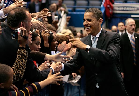 Super Tuesday「Barack Obama Campaigns Ahead Of Super Tuesday」:写真・画像(6)[壁紙.com]