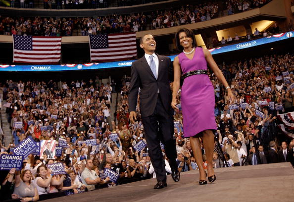 Purple「Obama Holds Final Primary Night Event In St. Paul」:写真・画像(18)[壁紙.com]