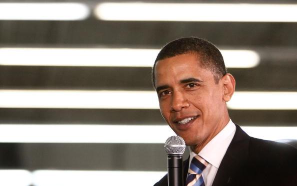 Missouri「Obama Attends Primary Night Event In Missouri」:写真・画像(1)[壁紙.com]