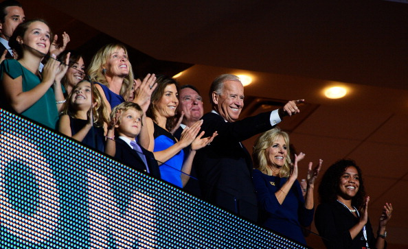 Family「Obama Accepts Nomination On Final Day Of Democratic National Convention」:写真・画像(19)[壁紙.com]
