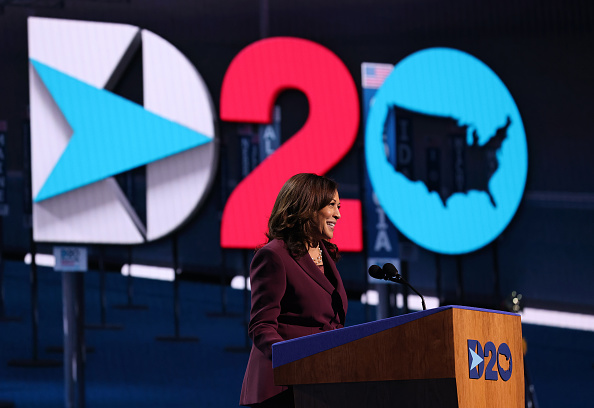 Democratic National Convention「Vice Presidential Nominee Kamala Harris Addresses Virtual DNC From Delaware」:写真・画像(10)[壁紙.com]