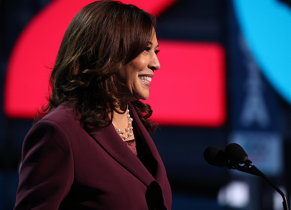 Democratic National Convention「Vice Presidential Nominee Kamala Harris Addresses Virtual DNC From Delaware」:写真・画像(19)[壁紙.com]