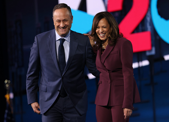 Democratic National Convention「Vice Presidential Nominee Kamala Harris Addresses Virtual DNC From Delaware」:写真・画像(8)[壁紙.com]