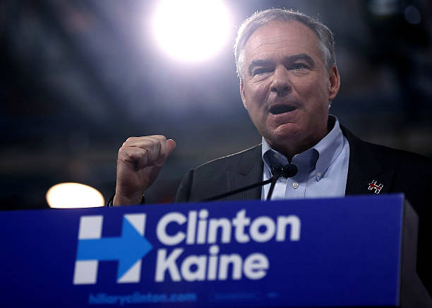 Democratic Presidential Candidate Hillary Clinton Appears With Vice Presidential Pick Sen. Tim Kaine:ニュース(壁紙.com)