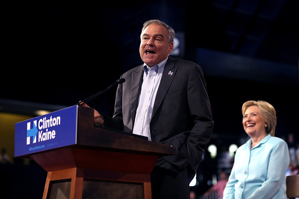 Florida - US State「Democratic Presidential Candidate Hillary Clinton Appears With Vice Presidential Pick Sen. Tim Kaine」:写真・画像(13)[壁紙.com]