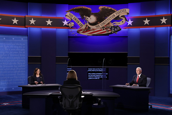 Participant「Mike Pence And Kamala Harris Take Part In Vice Presidential Debate」:写真・画像(13)[壁紙.com]