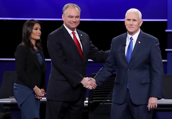 Timothy Kaine「Vice Presidential Debate Between Gov. Mike Pence And Sen. Tim Kaine」:写真・画像(12)[壁紙.com]