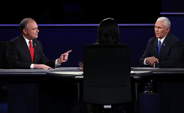 Emcee「Vice Presidential Debate Between Gov. Mike Pence And Sen. Tim Kaine」:写真・画像(19)[壁紙.com]