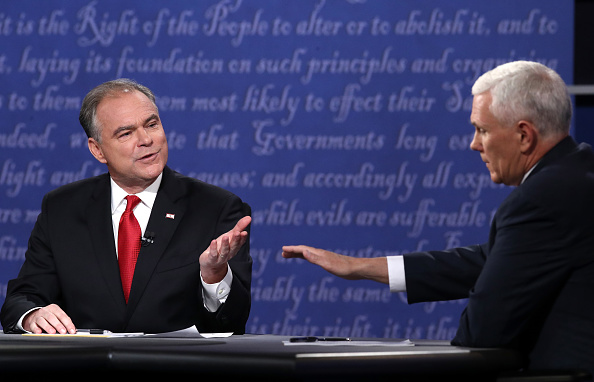Timothy Kaine「Vice Presidential Debate Between Gov. Mike Pence And Sen. Tim Kaine」:写真・画像(2)[壁紙.com]