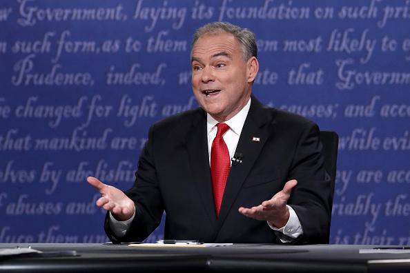 Timothy Kaine「Vice Presidential Debate Between Gov. Mike Pence And Sen. Tim Kaine」:写真・画像(7)[壁紙.com]
