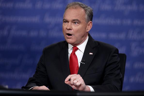 Timothy Kaine「Vice Presidential Debate Between Gov. Mike Pence And Sen. Tim Kaine」:写真・画像(6)[壁紙.com]