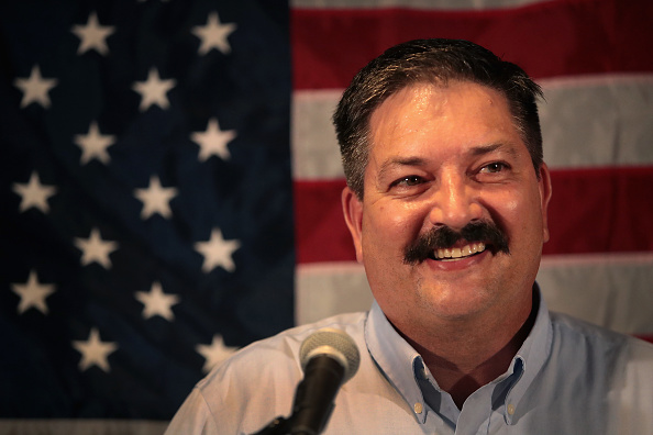 Scott Olson「WI Democratic Congressional Candidate Randy Bryce Holds Primary Night Event」:写真・画像(9)[壁紙.com]