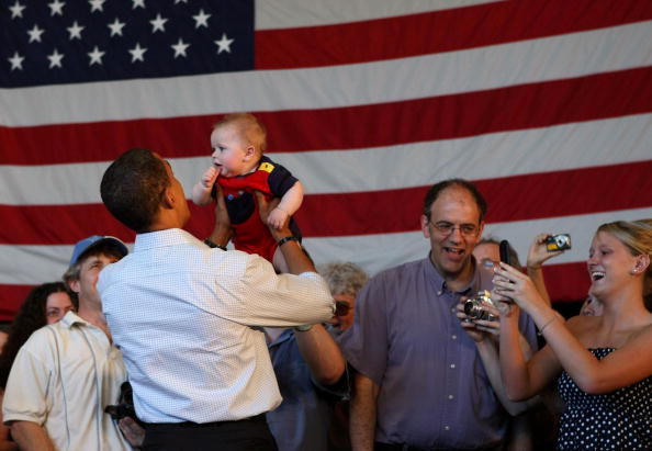 Oregon - US State「Barack Obama Campaigns Throughout Oregon Ahead Of State's Primary」:写真・画像(14)[壁紙.com]