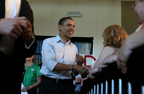 Oregon - US State「Barack Obama Campaigns Throughout Oregon Ahead Of State's Primary」:写真・画像(0)[壁紙.com]