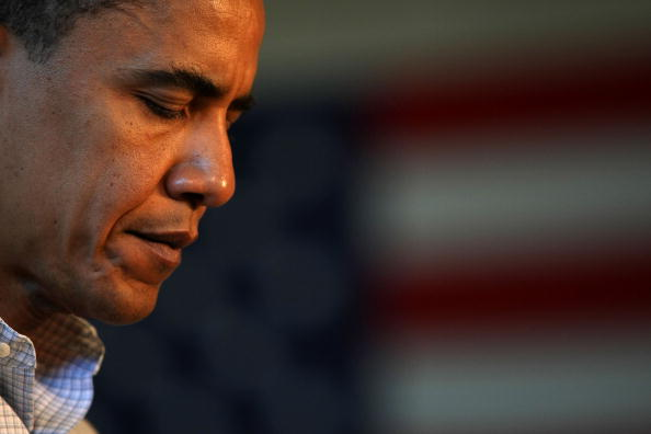 One Person「Barack Obama Campaigns Throughout Oregon Ahead Of State's Primary」:写真・画像(6)[壁紙.com]
