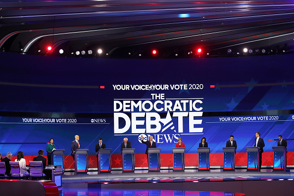 Texas Southern University「Democratic Presidential Candidates Participate In Third Debate In Houston」:写真・画像(9)[壁紙.com]