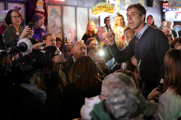 Chip Somodevilla「Beto O'Rourke Begins First Campaign Swing In Iowa As A Presidential Candidate」:写真・画像(9)[壁紙.com]