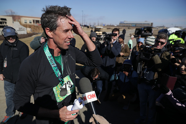 Chip Somodevilla「Beto O'Rourke Begins First Campaign Swing In Iowa As A Presidential Candidate」:写真・画像(6)[壁紙.com]