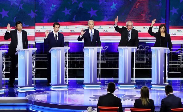 Debate「Democratic Presidential Candidates Participate In First Debate Of 2020 Election Over Two Nights」:写真・画像(6)[壁紙.com]