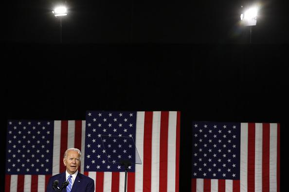 "Former「Democratic Presidential Candidate Joe Biden Speaks On His ""Build Back Better"" Clean Energy Economic Plan」:写真・画像(9)[壁紙.com]"