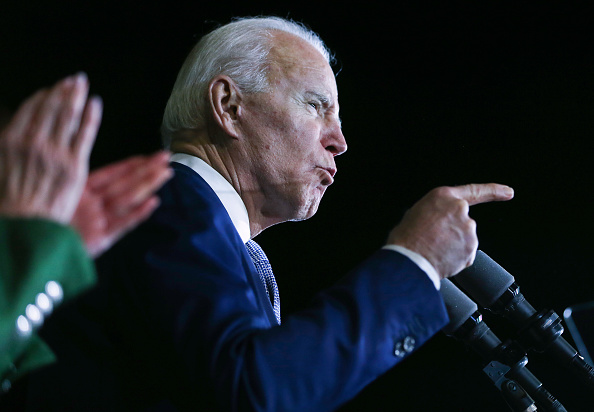 Super Tuesday「Presidential Candidate Joe Biden Holds Super Tuesday Night Campaign Event In Los Angeles」:写真・画像(8)[壁紙.com]