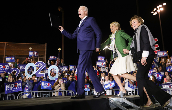 Super Tuesday「Presidential Candidate Joe Biden Holds Super Tuesday Night Campaign Event In Los Angeles」:写真・画像(0)[壁紙.com]