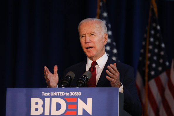 Speech「Presidential Candidate Joe Biden Delivers Foreign Policy Statement In New York」:写真・画像(17)[壁紙.com]