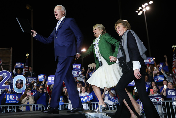 Super Tuesday「Presidential Candidate Joe Biden Holds Super Tuesday Night Campaign Event In Los Angeles」:写真・画像(13)[壁紙.com]