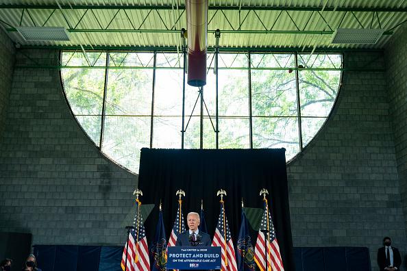 Joshua Roberts「Presidential Candidate Joe Biden Speaks In Lancaster On Health Care」:写真・画像(9)[壁紙.com]