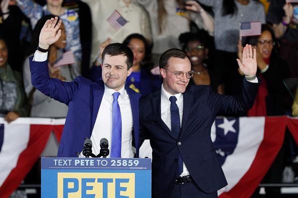Husband「Pete Buttigieg Holds Watch Party Event On Night Of Iowa Caucus」:写真・画像(0)[壁紙.com]