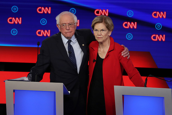Debate「Democratic Presidential Candidates Debate In Detroit Over Two Nights」:写真・画像(14)[壁紙.com]