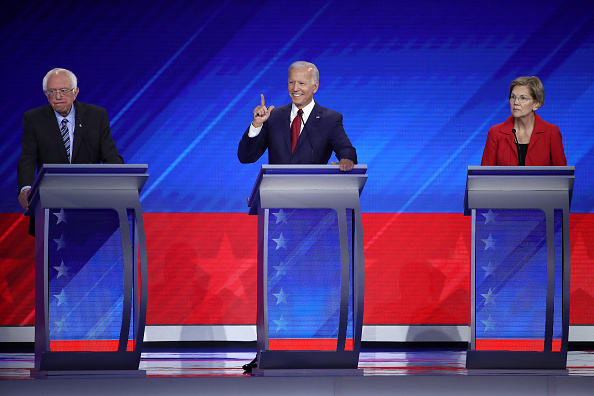 Texas Southern University「Democratic Presidential Candidates Participate In Third Debate In Houston」:写真・画像(12)[壁紙.com]