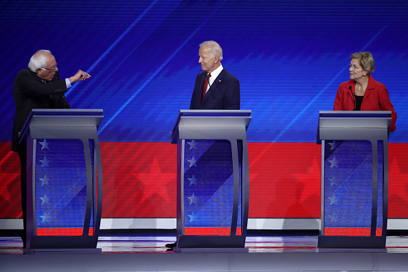 Candidate「Democratic Presidential Candidates Participate In Third Debate In Houston」:写真・画像(13)[壁紙.com]