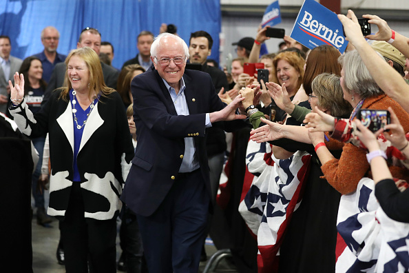 Super Tuesday「Presidential Candidate Bernie Sanders Holds Super Tuesday Night Rally In Vermont」:写真・画像(12)[壁紙.com]