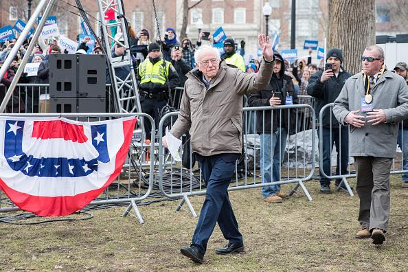 Scott Eisen「Presidential Candidate Bernie Sanders Holds Campaign Rally In Boston」:写真・画像(18)[壁紙.com]