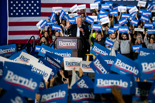 Detroit - Michigan「Democratic Presidential Candidate Bernie Sanders Holds Rally In Detroit Ahead Of State's Primary」:写真・画像(7)[壁紙.com]