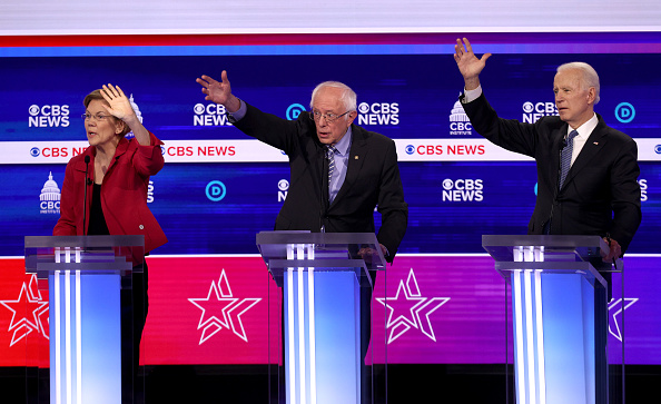Charleston - South Carolina「Democratic Presidential Candidates Debate In Charleston Ahead Of SC Primary」:写真・画像(18)[壁紙.com]