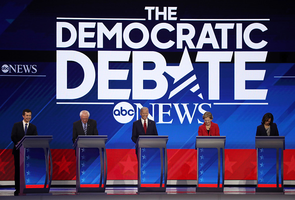 Texas Southern University「Democratic Presidential Candidates Participate In Third Debate In Houston」:写真・画像(2)[壁紙.com]