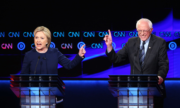 Super Tuesday「Democratic Presidential Candidates Debate In Flint」:写真・画像(14)[壁紙.com]