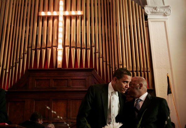 Brown Chapel AME Church - Selma「Clinton, Obama Commemorate Historic Selma March」:写真・画像(1)[壁紙.com]