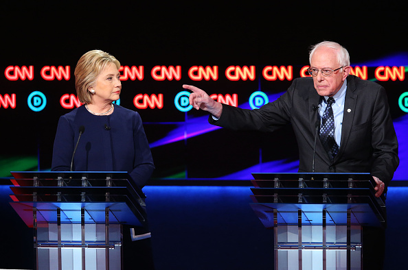 Super Tuesday「Democratic Presidential Candidates Debate In Flint」:写真・画像(15)[壁紙.com]