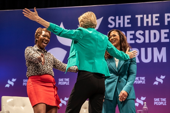 """Texas Southern University「Democratic Presidential Candidates  Attend """"She The People"""" Forum In Houston」:写真・画像(19)[壁紙.com]"""