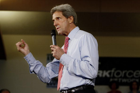 Oregon - US State「Kerry Campaigns In Oregon」:写真・画像(18)[壁紙.com]