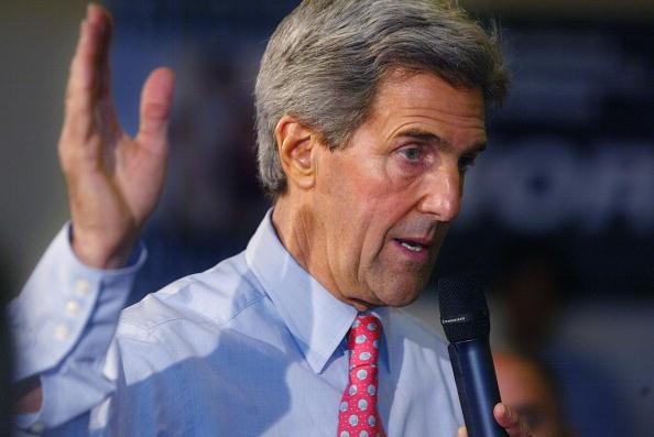 Oregon - US State「Kerry Campaigns In Oregon」:写真・画像(2)[壁紙.com]