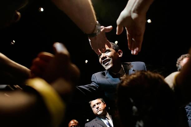 Obama Campaigns In Miami:ニュース(壁紙.com)